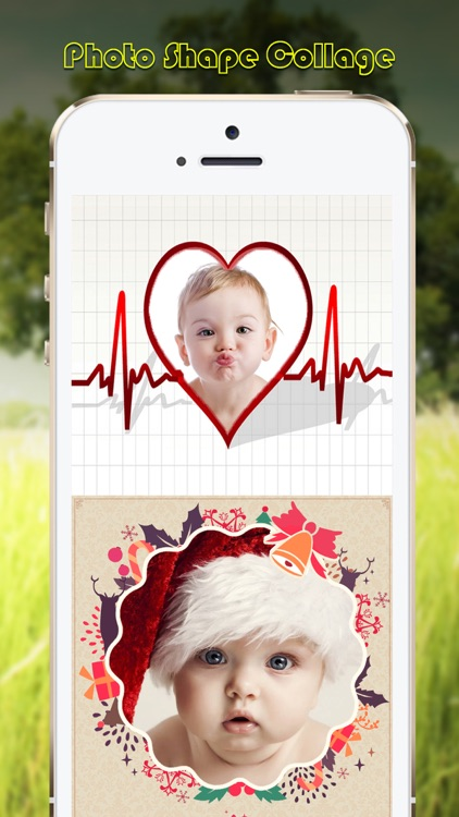 Photo Shape Collage - Overlay & Frame Pics for Posts on Tagged screenshot-3