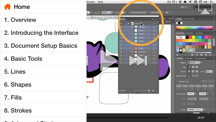 AV for Illustrator CS6 - Illustrator Basics - Create A Logo