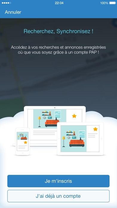 download PAP immobilier vente location apps 0