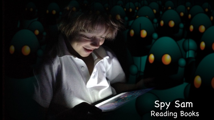 Spy Sam Reading Book 1 - The big adventure with little words for kids to learn to read