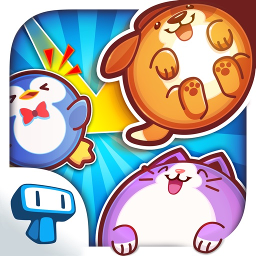 Pet Bowling - Flick & Sliding Puzzle of Virtual Animals for Kids