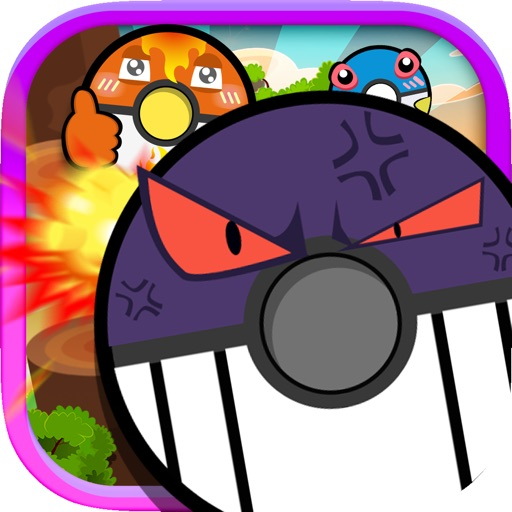 "Flappy and Dash Poke Monster Ball Smash : ""Flying Adventure Bomb Original Edition"""