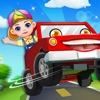 Crazy Car Dash Party - Kids Racer Games