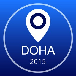 Doha Offline Map + City Guide Navigator, Attractions and Transports