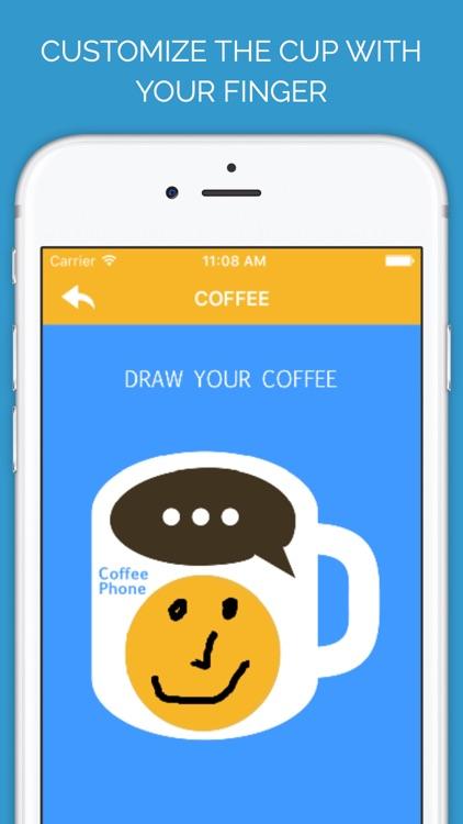 Coffee Phone screenshot-3