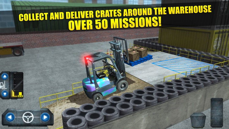 Fork Lift Truck Driving Simulator Real Extreme Car Parking Run screenshot-4