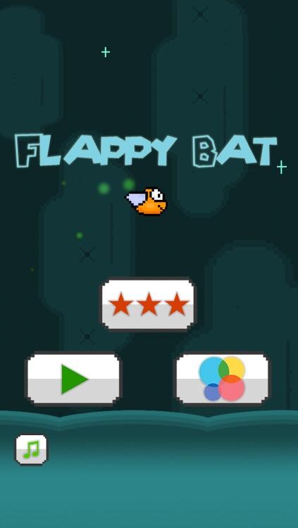 Flappy Bat - The Adventure of a Tiny Bird Bat