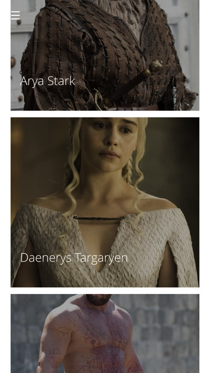 Woololo for Game of Thrones Characters