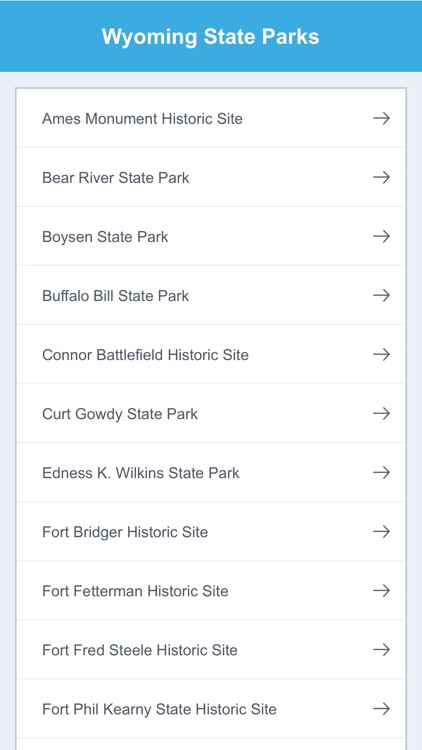 Wyoming National Parks & State Parks screenshot-1