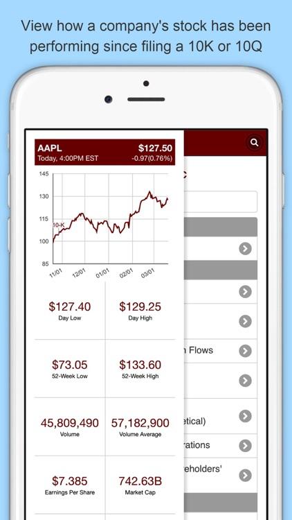 Last 10K: Company SEC Filings screenshot-3
