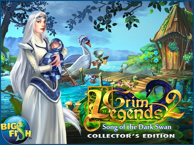 Grim Legends 2: Song of the Dark Swan HD - A Magical Hidden Object Game screenshot-4
