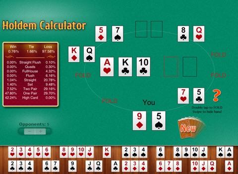 Free Holdem Calculator Скриншоты11
