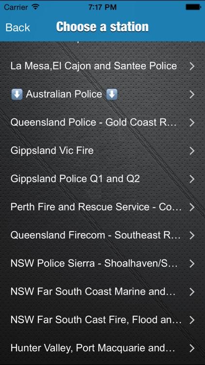 WBR - Radio and Police Scanner - Australia USA Canada