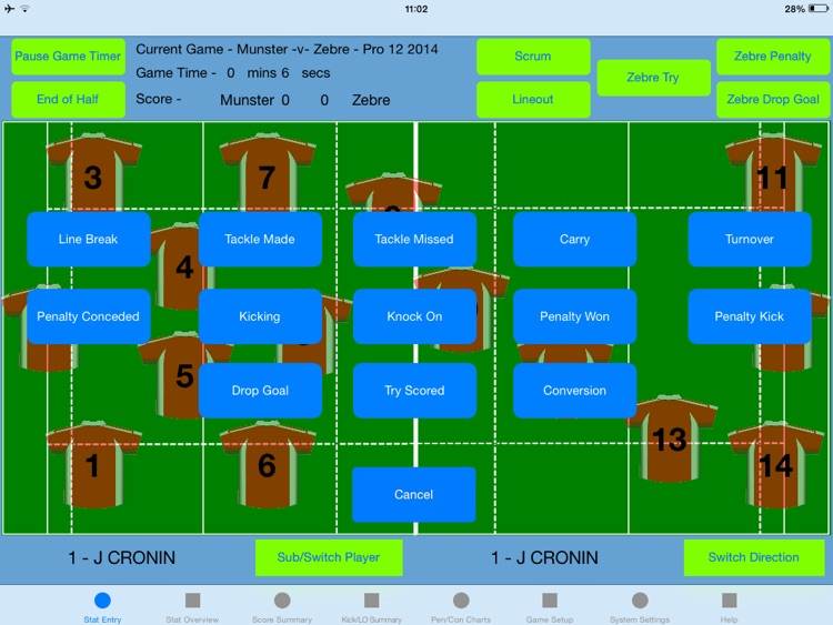 StatAPult Rugby
