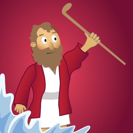 Moses and the Parting of the Red Sea: Bible Heroes - Teach Your Kids with  Stories, Songs, Puzzles and Coloring Games! by Kingdom Media LLC