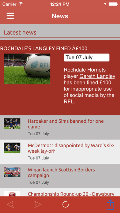 Love Rugby League screenshot two