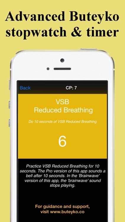 Buteyko Breathing Free screenshot-3