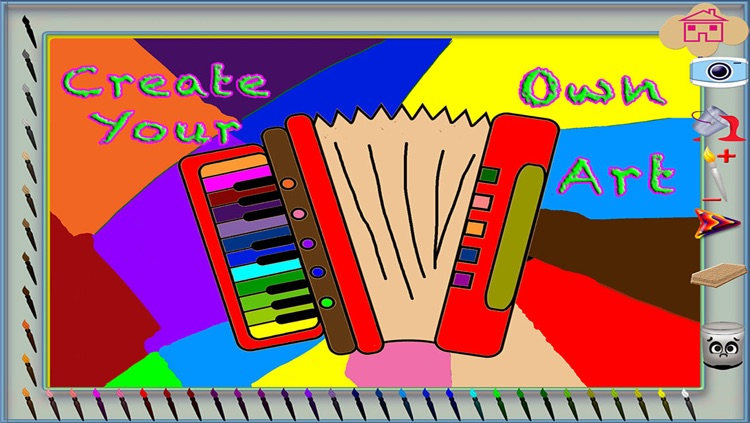 123 Music Coloring Educational Fun Musical Instruments Coloring Pages Game By E T Digital Design