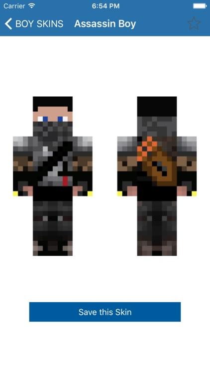 Boy Skins for Minecraft PE (Best Skins HD for Pocket Edition)