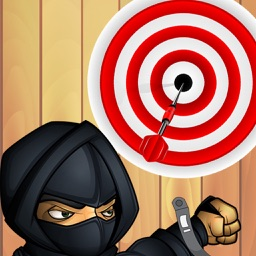 Darts Ninja - Be A Crazy Pro And Avoid The Clumsy Victim