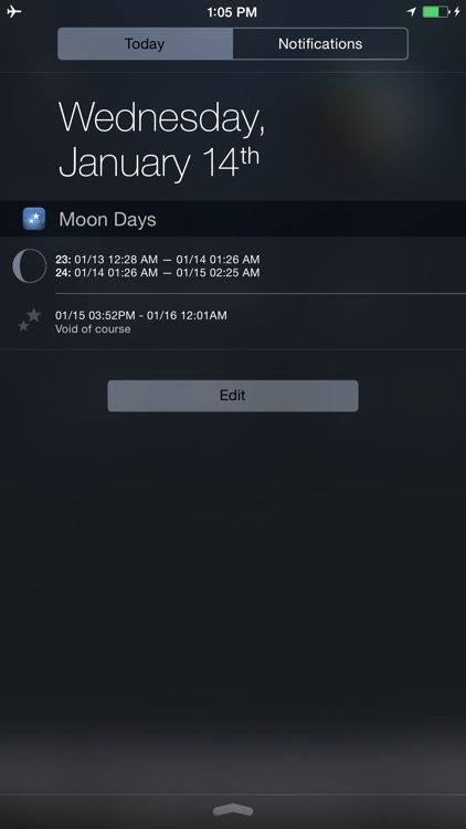 Moon Days - Lunar Calendar and Void of Course Times screenshot-4