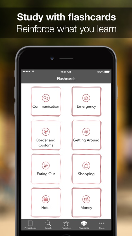 SpeakEasy German ~ Offline Phrasebook and Flashcards with Native Speaker Voice and Phonetics screenshot-4