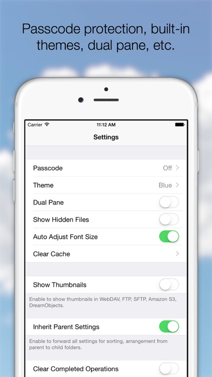 AirFile Pro - Cloud Manager for Dropbox and OneDrive screenshot-4