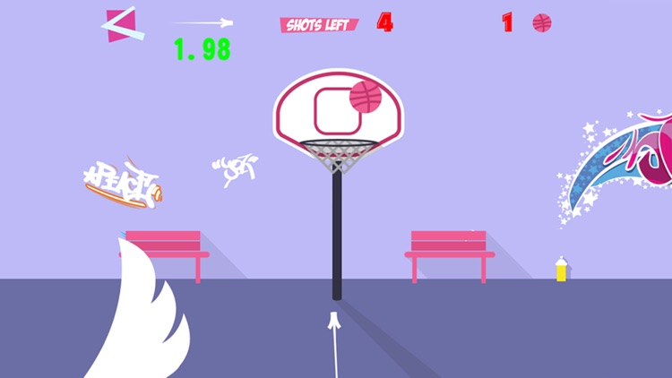 Basketball Flick - Dunk Slam Showdown screenshot-2