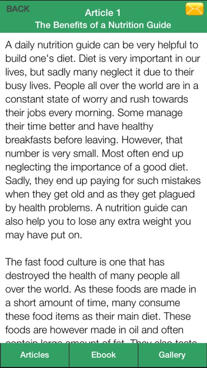 Nutrition Guide Plus - Learning Good Nutrition For Healthy! screenshot-3