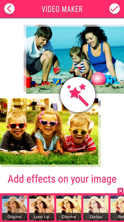 Video Maker Pro - Create beautiful video square slide show with your photo and image screenshot-3