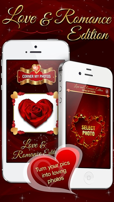 Corner My Photos – Love & Romance Edition - Add beautiful loving, heartfelt photo corners to your pictures.-0