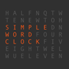 Simple Word Clock - Hong Wee Teo