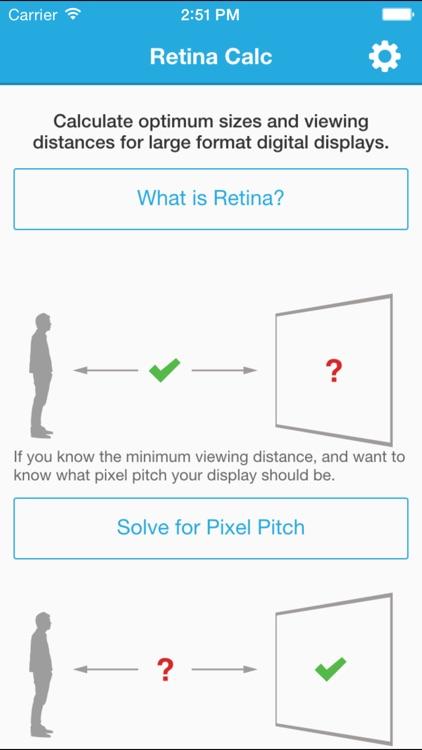 Retina Calc