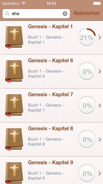 Free German Holy Bible Audio MP3 and Text - Luther Version screenshot-3