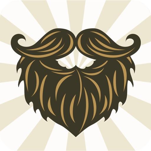 Beard Stash Free - Funny Mustache Pic & Booth Split iOS App