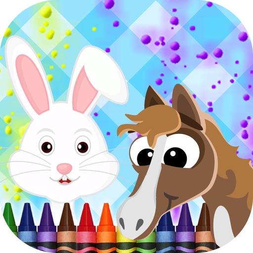 Animals Coloring-Book iOS App