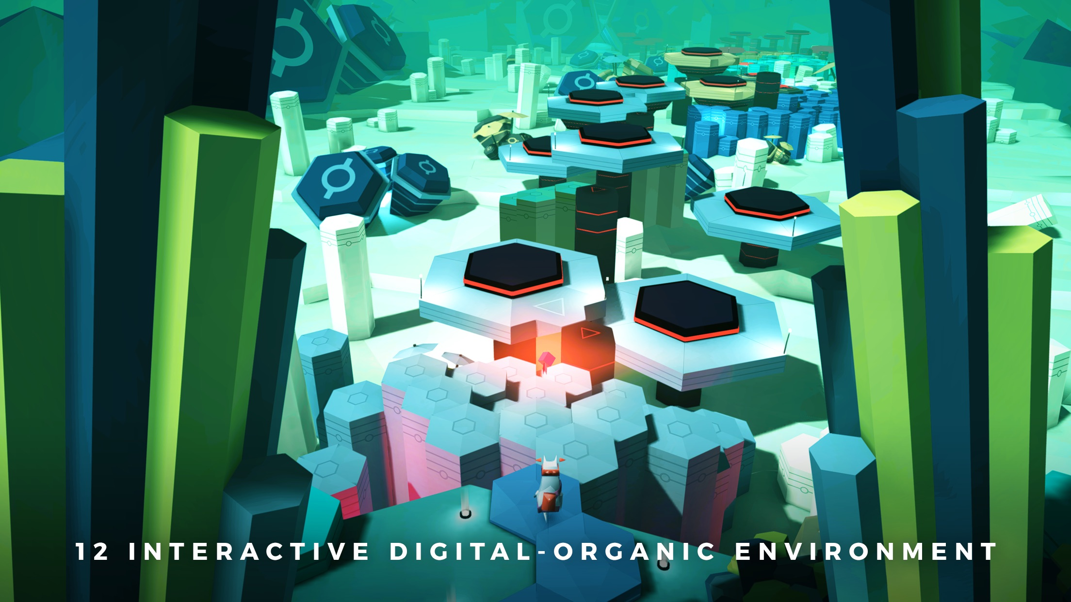 Screenshot do app Adventures of Poco Eco - Lost Sounds: Experience Music and Animation Art in an Indie Game