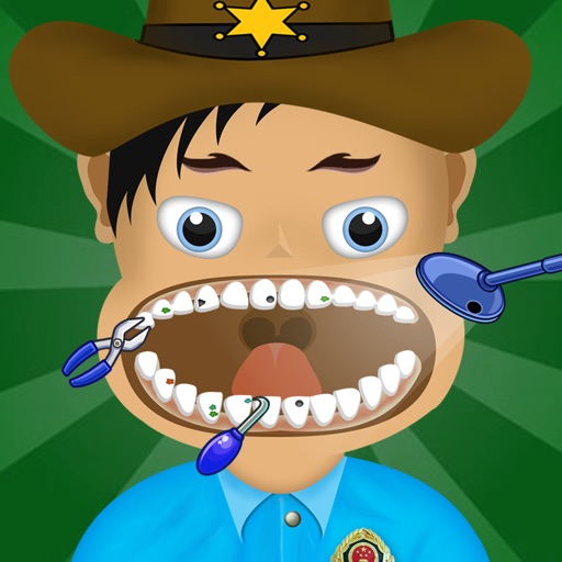 American Police Dentist Mania Pro - crazy teeth doctor game