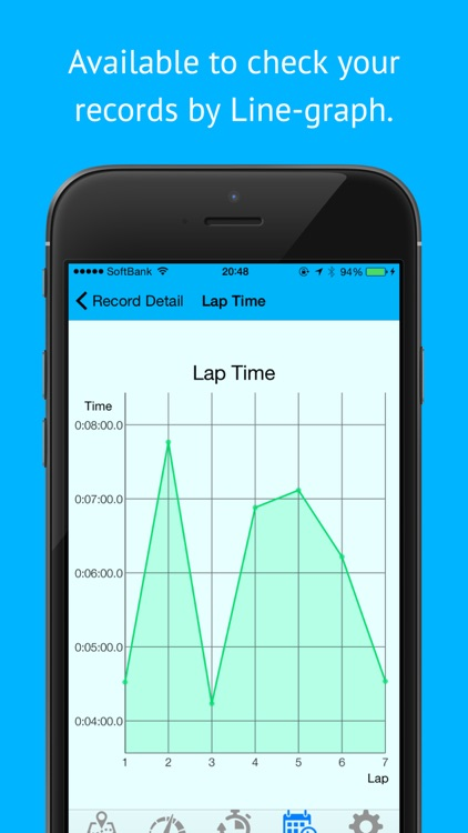 AutoLap - Simplest Automatic Lap Count Recorder for cycling and jogging screenshot-3