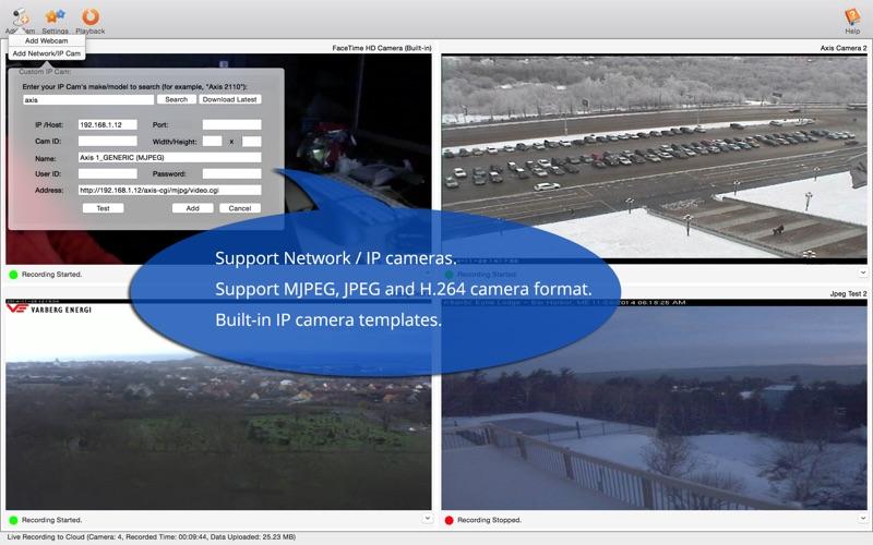 DVR.Webcam for Dropbox Users Screenshot