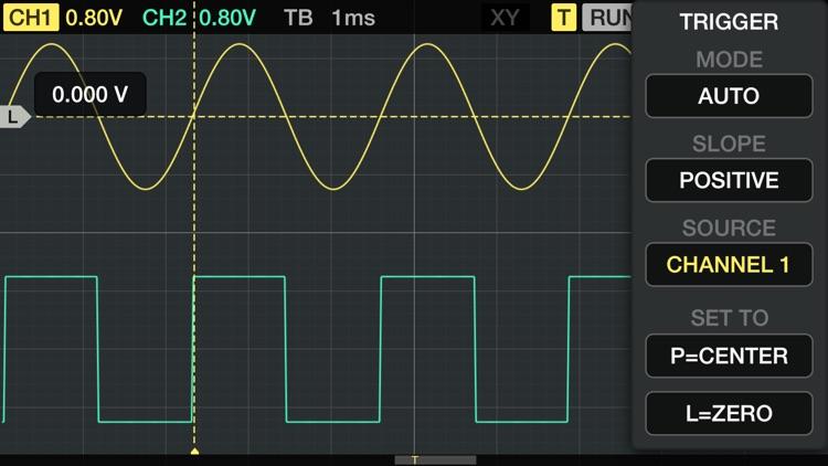 Oscilloscope screenshot-0