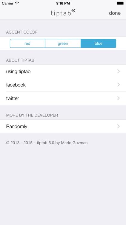 tiptab screenshot-3