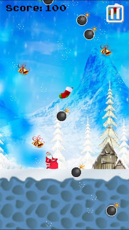 Save the Christmas Catch falling gifts - Kids Game