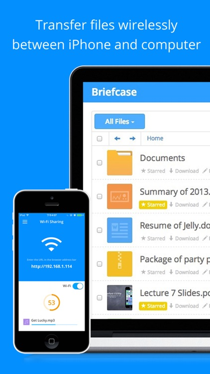 Briefcase - File manager & document pdf reader