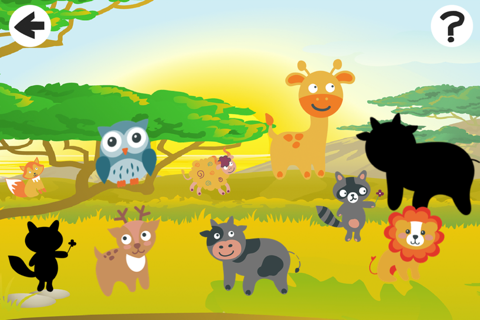 Animal-s from a Safari Trip in One Kid-s Puzzle Ga - náhled