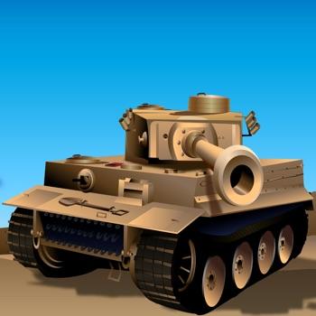 Desert Storm Tank Battle