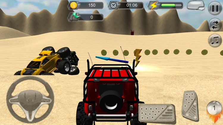 4x4 monster truck off road Furious Extreme Racing
