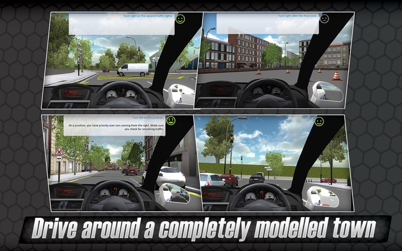 Screenshot #4 for 3D Driving Simulator - Master your vehicle