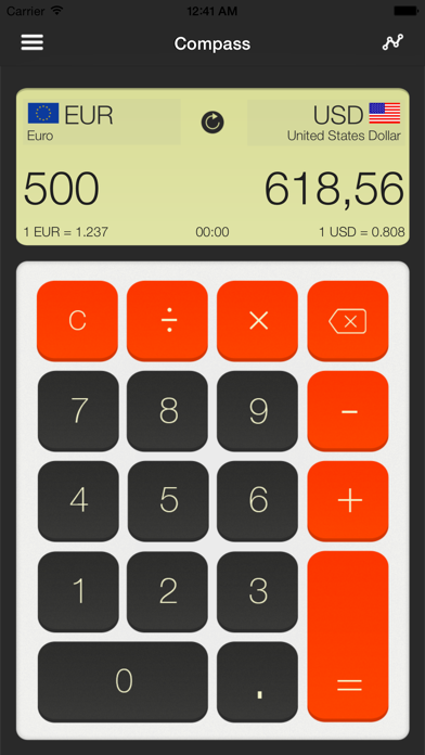 Currency Converter - Real Time Screenshot