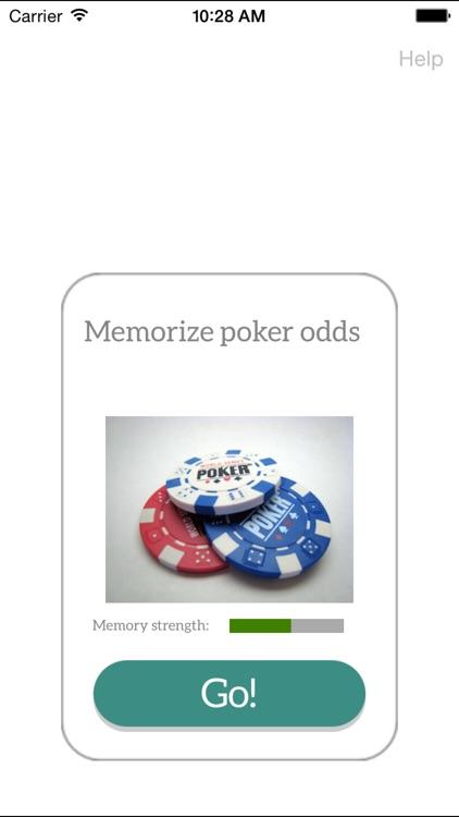 Memorize Poker Odds